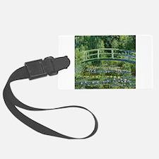 Monet Japanese Bridge Luggage Tag
