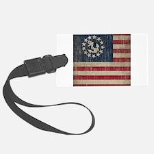 Vintage America Yacht Flag Luggage Tag