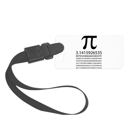 Pi Small Luggage Tag