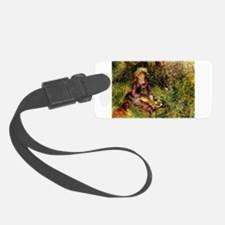 Mrs Renoir with dog Luggage Tag
