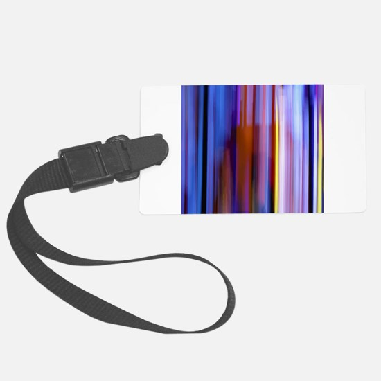 Surreal Stripes Luggage Tag