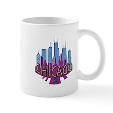 Chicago Skyline Newwave Cool Mug