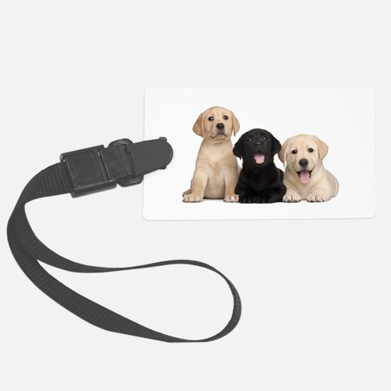 Labrador puppies Luggage Tag