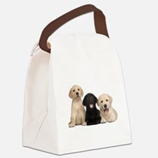 Labrador puppies Canvas Lunch Bag