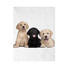 Labrador puppies Twin Duvet