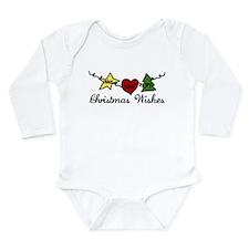 Christmas Wishes Long Sleeve Infant Bodysuit
