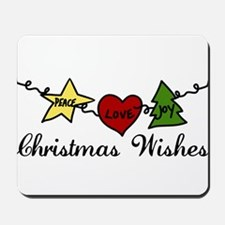 Christmas Wishes Mousepad