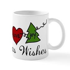 Christmas Wishes Small Mug