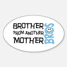 Brother Mother Smile Sticker (Oval)