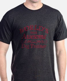 Awesome Dog Trainer T-Shirt
