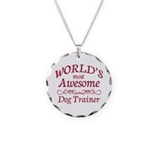 Awesome Dog Trainer Necklace