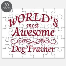 Awesome Dog Trainer Puzzle