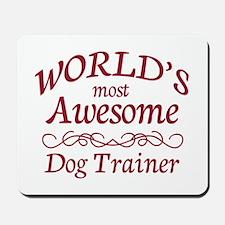 Awesome Dog Trainer Mousepad