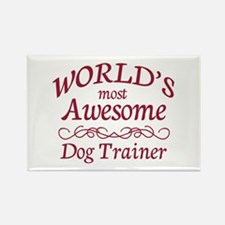 Awesome Dog Trainer Rectangle Magnet (10 pack)