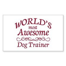 Awesome Dog Trainer Decal