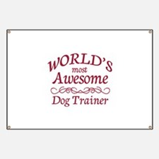 Awesome Dog Trainer Banner