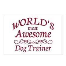 Awesome Dog Trainer Postcards (Package of 8)