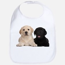 Labrador puppies Bib