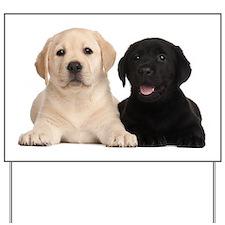 Labrador puppies Yard Sign
