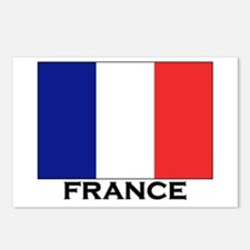 France Flag Stuff Postcards (Package of 8)
