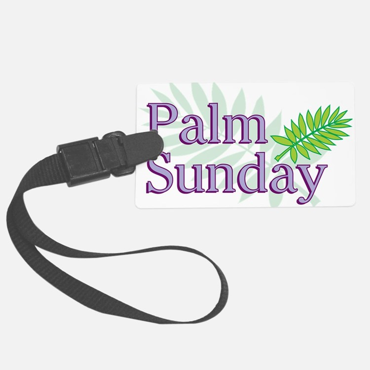 Palm Sunday Luggage Tag