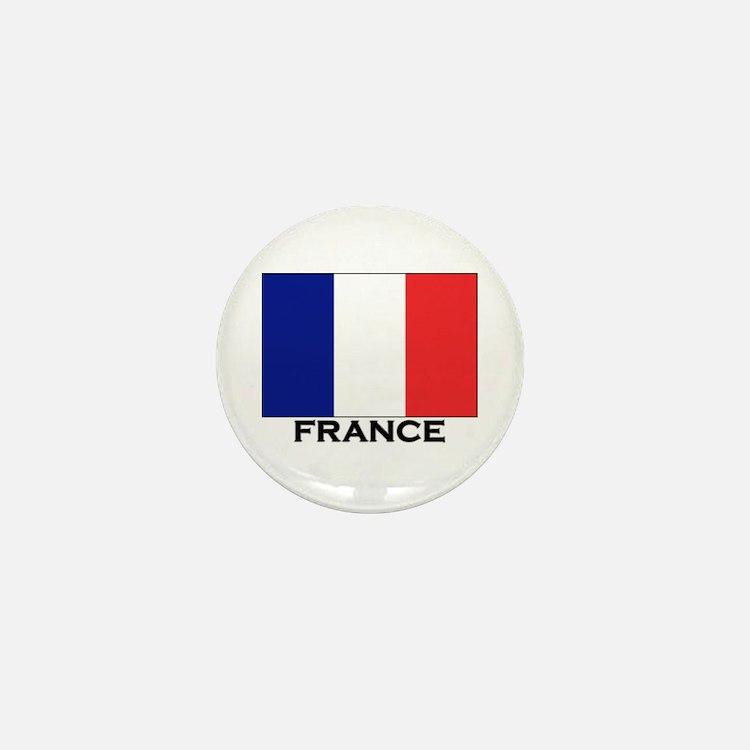 France Flag Stuff Mini Button