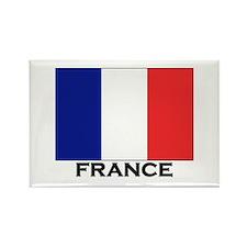 France Flag Stuff Rectangle Magnet