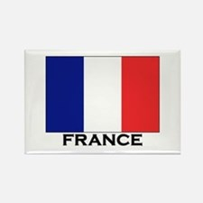 France Flag Stuff Rectangle Magnet