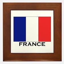 France Flag Stuff Framed Tile