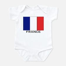France Flag Stuff Infant Bodysuit