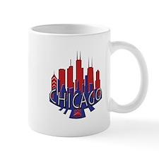 Chicago Skyline Newwave Patriot Mug