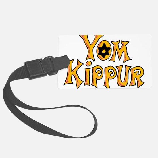 Yom Kippur Luggage Tag