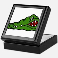 Gator Head Keepsake Box