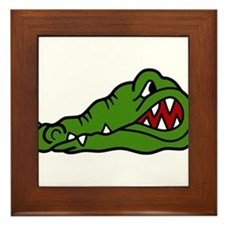 Gator Head Framed Tile