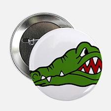 "Gator Head 2.25"" Button"
