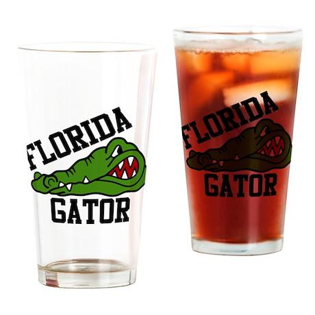 Florida Gator Drinking Glass