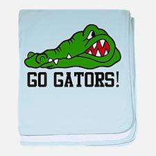 Go Gator baby blanket