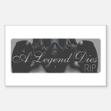 Peter Brock Tribute Rectangle Decal
