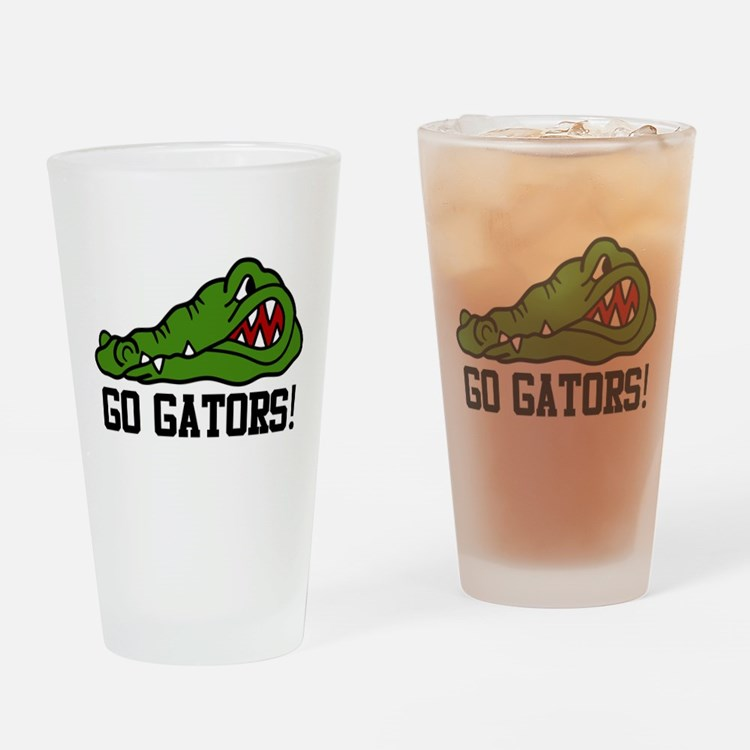 Go Gator Drinking Glass
