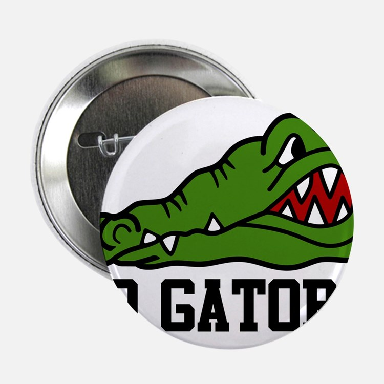"Go Gator 2.25"" Button"