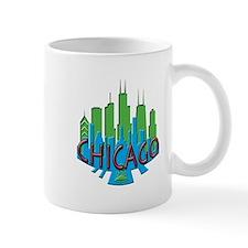 Chicago Skyline Newwave Primary Mug
