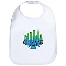 Chicago Skyline Newwave Primary Bib