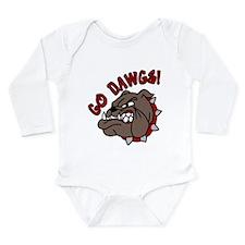 Go Dawgs Long Sleeve Infant Bodysuit