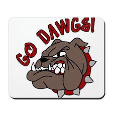 Go Dawgs Mousepad