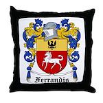 Ferrandis Coat of Arms Throw Pillow