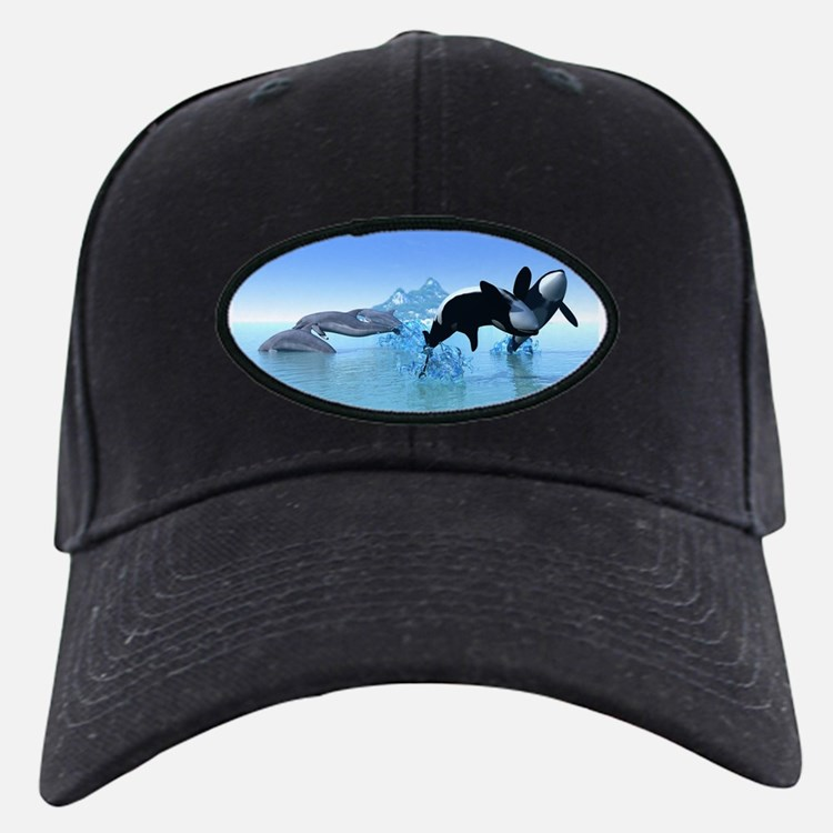 Dolphins and Orca's Baseball Hat