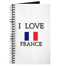 I Love France Journal