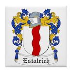 Estalrich Coat of Arms Tile Coaster