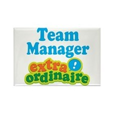Team Manager Extraordinaire Rectangle Magnet