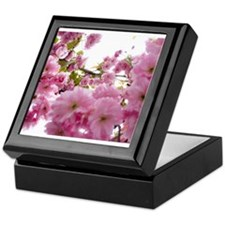 Spring time Cherry Blossoms Keepsake Box
